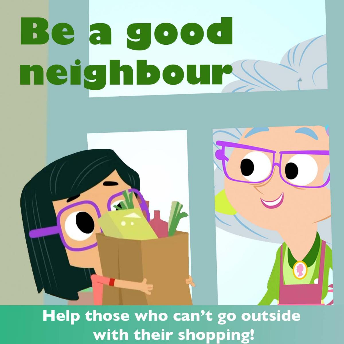 Be a good neighbour
