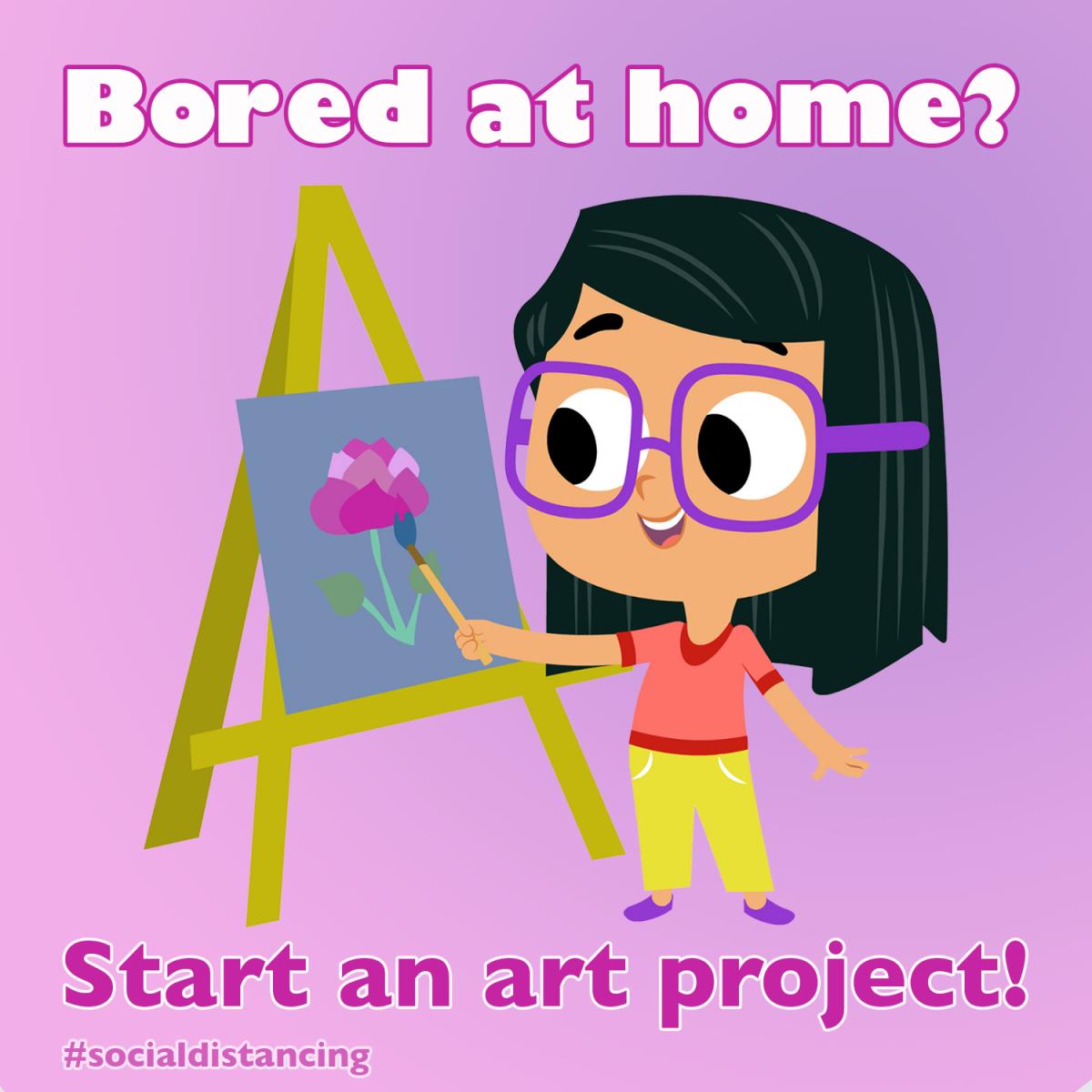 start an art project