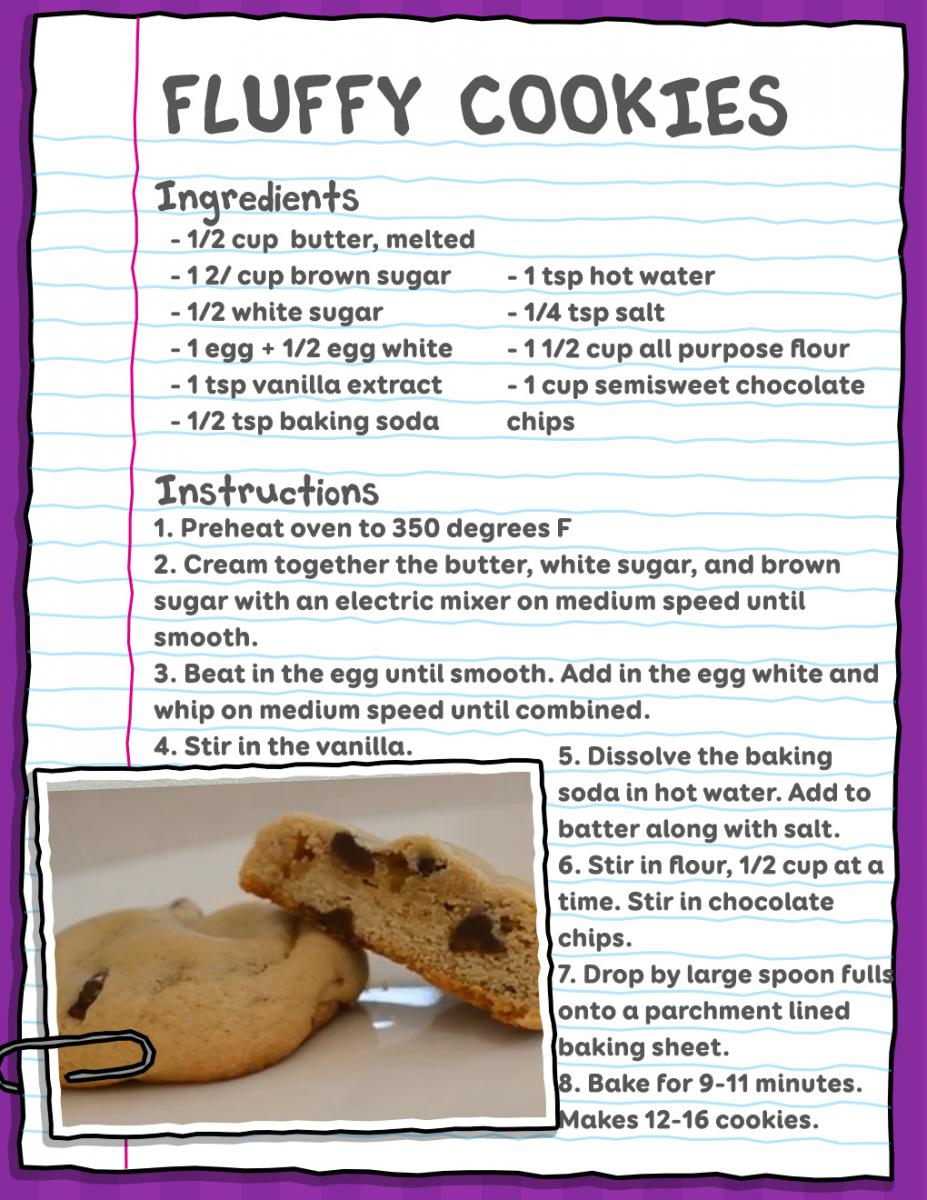 Fluffy Cookie Recipe
