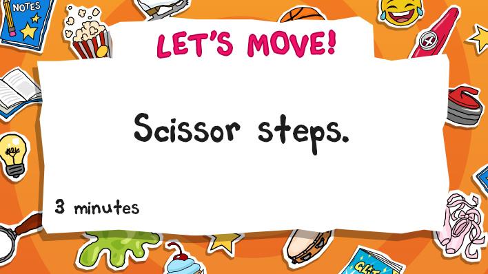 scissor steps