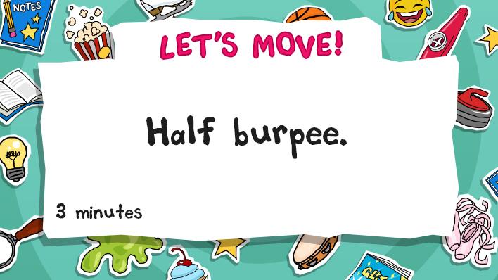 half burpee
