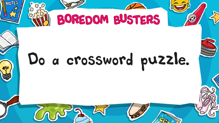 Do a crossword puzzle
