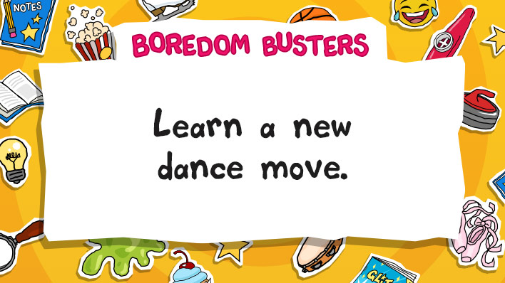 Learn a new dance move