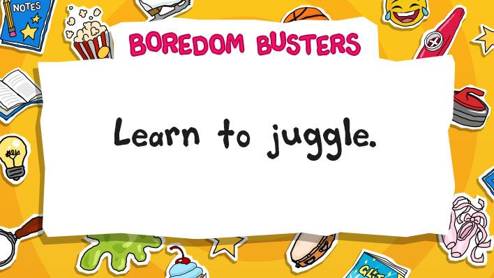Learn to juggle