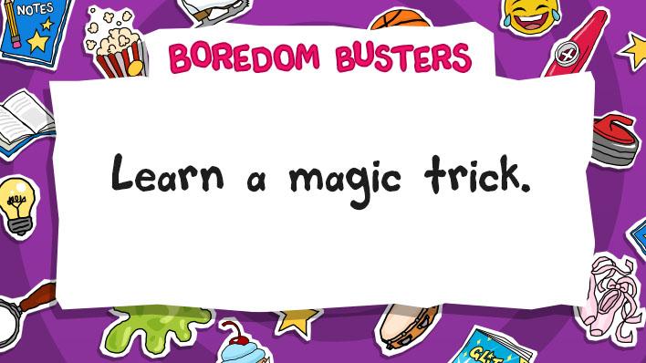 Learn a magic trick
