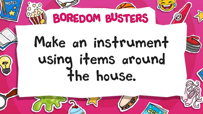 Make an instrment