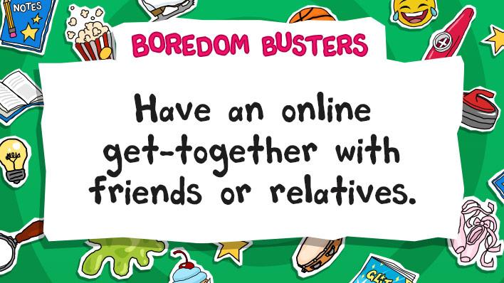 Have an online get-together