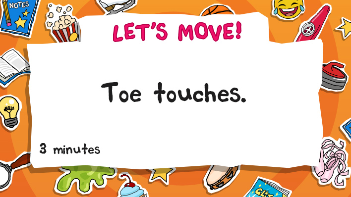 Toe touches